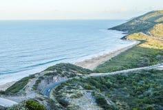 Négligence de la route et de la côte Photo libre de droits