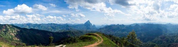 Paysage des Laotiens Photos libres de droits
