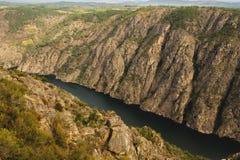 Négligence du canyon de Sil de rivière Photo stock