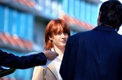 Négociation d'affaires Photos stock