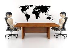 Négociations Image libre de droits