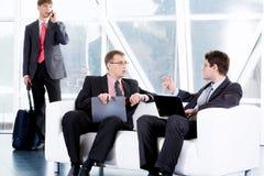 Négociations d'affaires Photos libres de droits