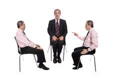 Négociations d'affaires Image stock