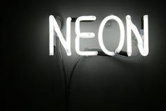 néon Image libre de droits