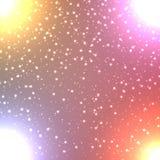 Néon abstrait de couleur Image libre de droits