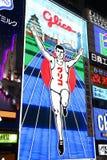 Néon de Osaka Foto de Stock Royalty Free