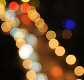 néon léger Photographie stock