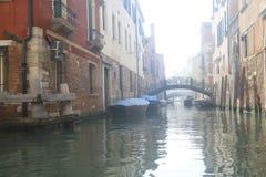 névoa Arquitetura e marcos de Veneza imagens de stock royalty free