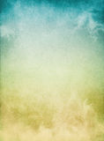 Névoa azul amarela Imagem de Stock Royalty Free