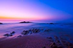 Névoa do amanhecer Fotografia de Stock Royalty Free