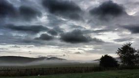 Névoa do amanhecer de Abington Imagem de Stock Royalty Free