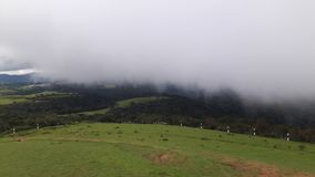 A névoa em Sri Lanka fotografia de stock royalty free