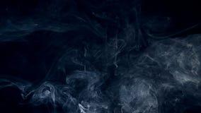 Névoa, fumo, nuvem abstrata branca video estoque