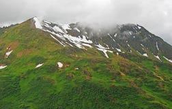 Névoa litoral nas montanhas Imagens de Stock Royalty Free