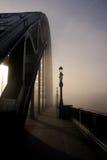 A névoa no Tyne Imagem de Stock