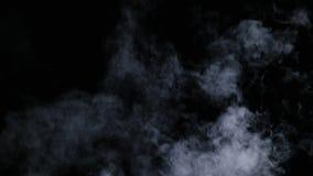 Névoa seca realística das nuvens de fumo fotos de stock royalty free