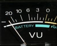 Níveis da bateria imagem de stock royalty free