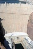 Níveis da seca da barragem Hoover em Nevada Imagem de Stock Royalty Free