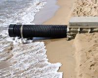 Níveis de aumentação do mar Fotos de Stock Royalty Free