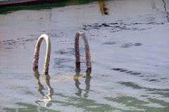 Níveis de inundação Imagens de Stock Royalty Free
