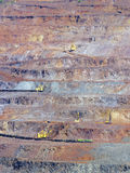 Níveis de mina open-cast Imagem de Stock