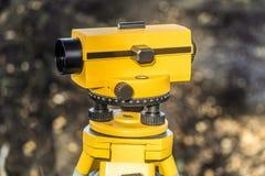 Nível ótico geodésico fotos de stock