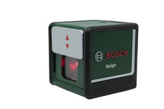 Nível Bosch do laser Foto de Stock