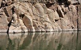Nível de água do reservatório Imagem de Stock