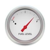 Nível de combustível do vetor Fotografia de Stock Royalty Free