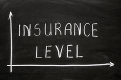 Nível do seguro Imagens de Stock