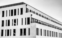 Nível superior B&W da Marselha-construção foto de stock royalty free
