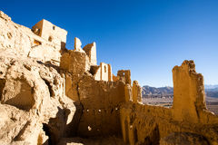 Nível superior de ruínas de Guge Imagens de Stock