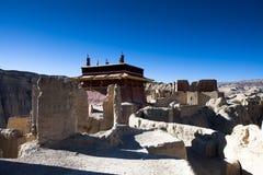 Nível superior de ruínas de Guge Fotografia de Stock