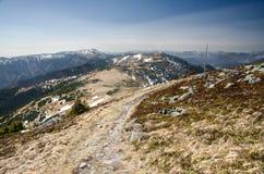 Nízke Tatry Low Tatras main ridge, near Ďurková, Slovakia Royalty Free Stock Image