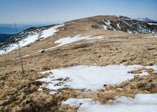 Nízke Tatry Low Tatras main ridge, near Ďurková, Slovakia Stock Images
