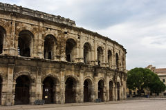 The Nîmes Arena Royalty Free Stock Photography