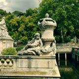 Nîmes, Frankrijk Stock Foto