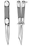 Nóż Zdjęcie Stock
