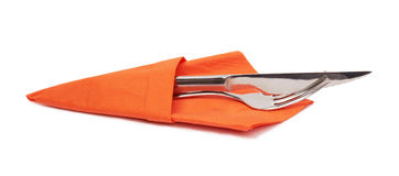 Nóż i rozwidlenie. zdjęcia stock