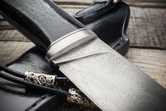 nóż myśliwski Zdjęcie Royalty Free