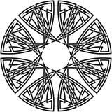 Nó celta #13 Ilustração do Vetor