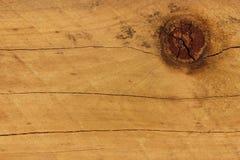 Nó da madeira de pinho Fotografia de Stock Royalty Free