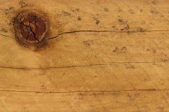 Nó da madeira de pinho Imagens de Stock