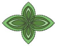 Nó do celtic da hortelã ilustração stock