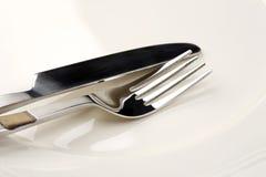 nóż, widelec Zdjęcie Royalty Free