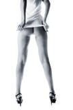 nóg piękne kobiety Zdjęcia Royalty Free