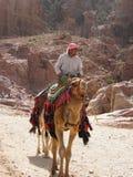 Nómada en el desierto fotos de archivo libres de regalías