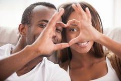 Nós amamo-nos! Foto de Stock Royalty Free
