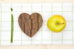 Nós amamos frutas. Foto de Stock