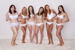 Nós amamos nossos corpos Fotos de Stock Royalty Free